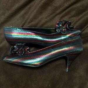 Vintage designer Stuart Weitzman cocktail heel